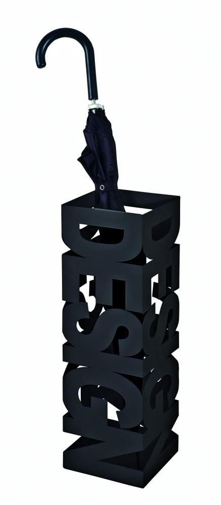 Stojan na deštníky Ruan, 48 cm, černá