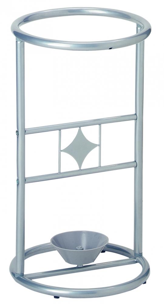 Stojan na deštníky Susa, 53 cm, stříbrná