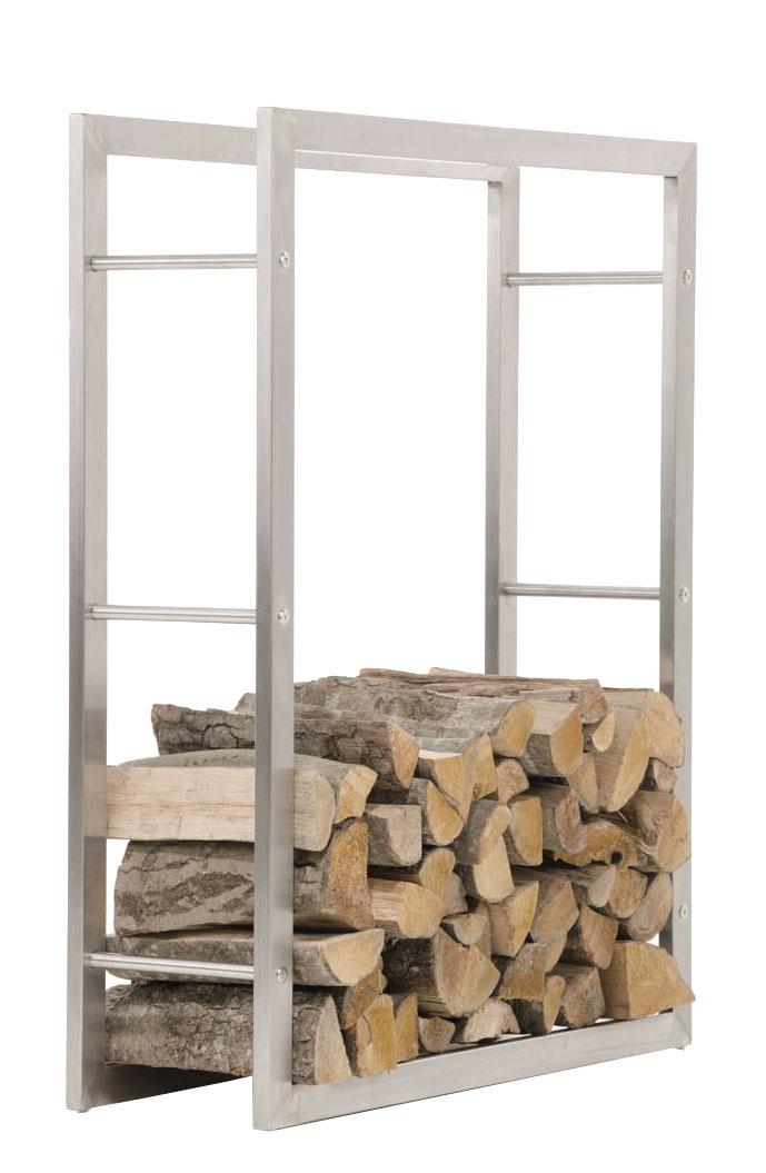 Stojan na dřevo Karin, 100x150 cm, nerez