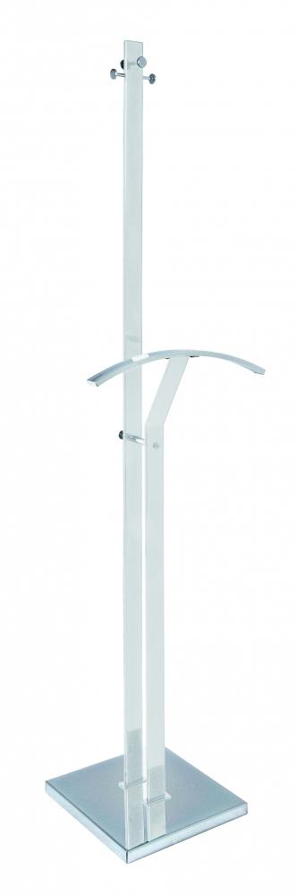 Stojan na šaty Inez, 181 cm, bílá