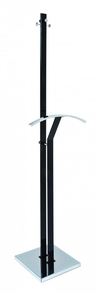 Stojan na šaty Inez, 181 cm, černá
