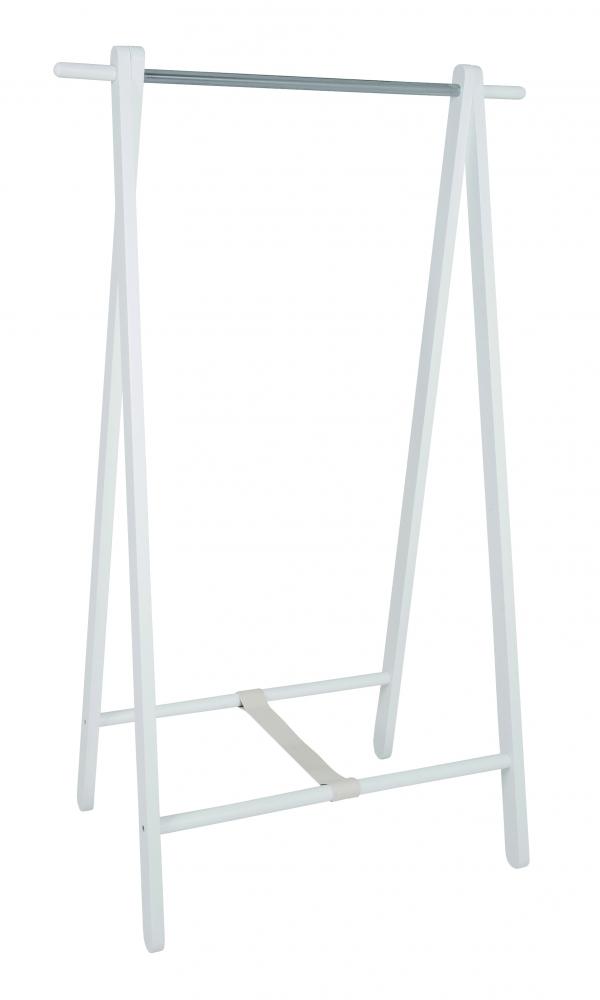 Stojan na šaty Léna, 152 cm, bílá