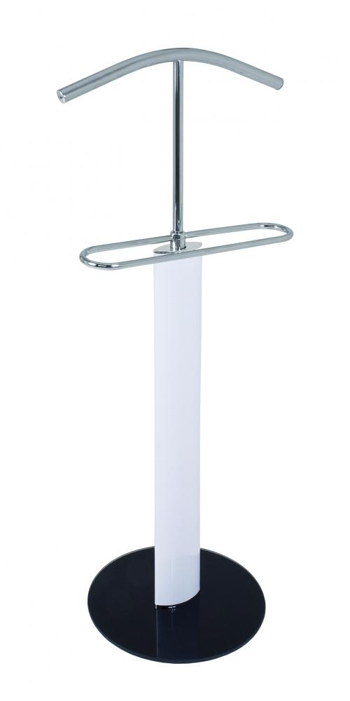Stojan na šaty/němý sluha Emmer, 116 cm, bílá