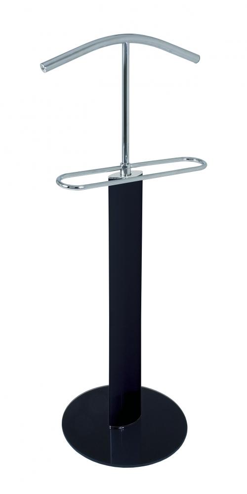 Stojan na šaty/němý sluha Emmer, 116 cm, černá