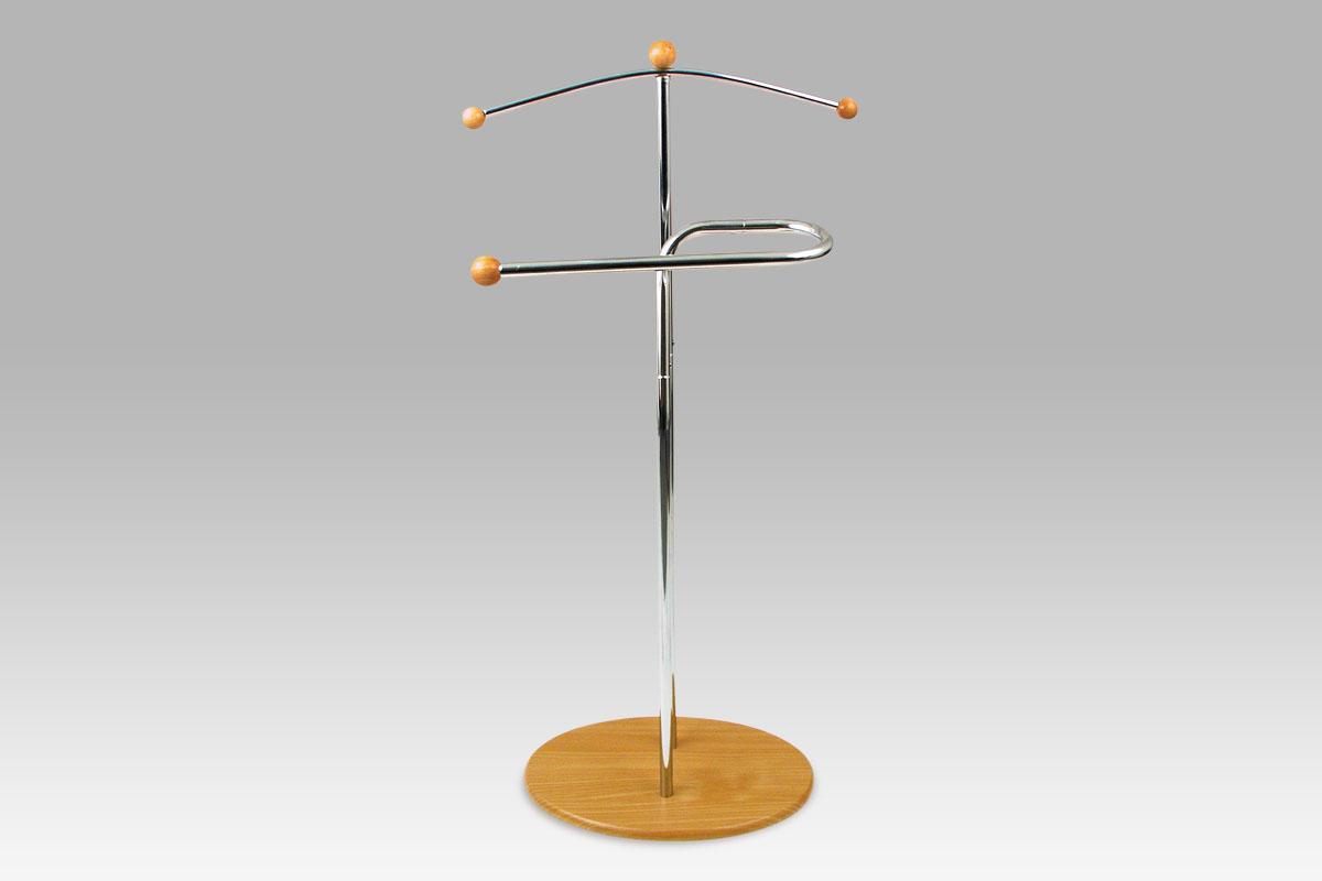 Stojan na šaty / němý sluha Henri, 110 cm, béžová