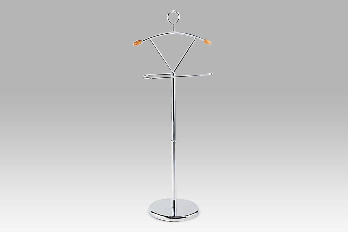 Stojan na šaty / němý sluha Louis, 116 cm, chrom