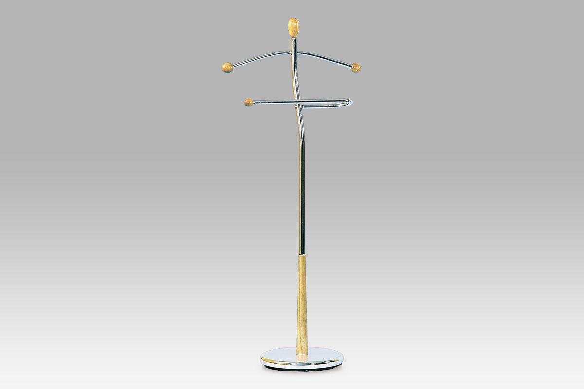 Stojan na šaty / němý sluha Lowell, 118 cm, běžová