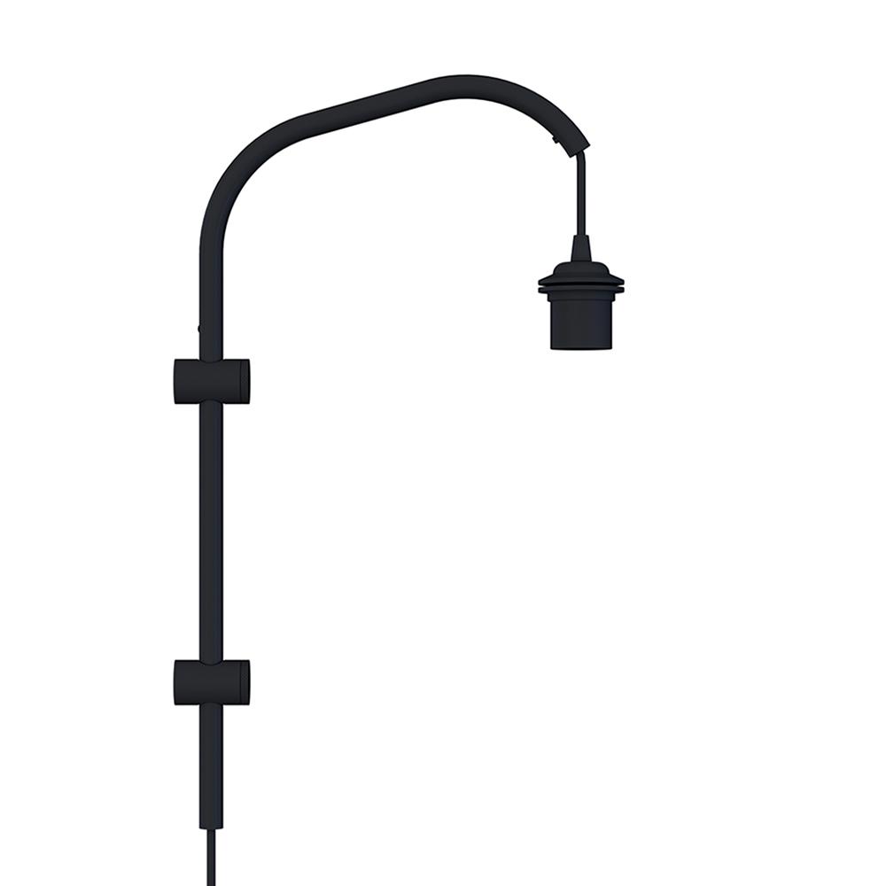 Stojan pro nástěnnou lampu VITA Willow mini, černá
