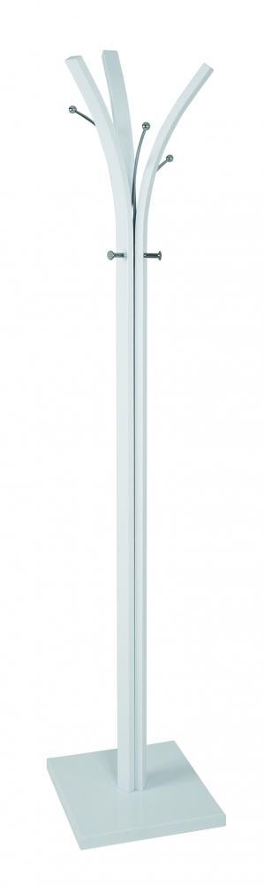 Stojanový vešák Alan, 180 cm, bílá