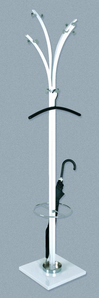Stojanový vešák Bonnie, 187 cm, bílá