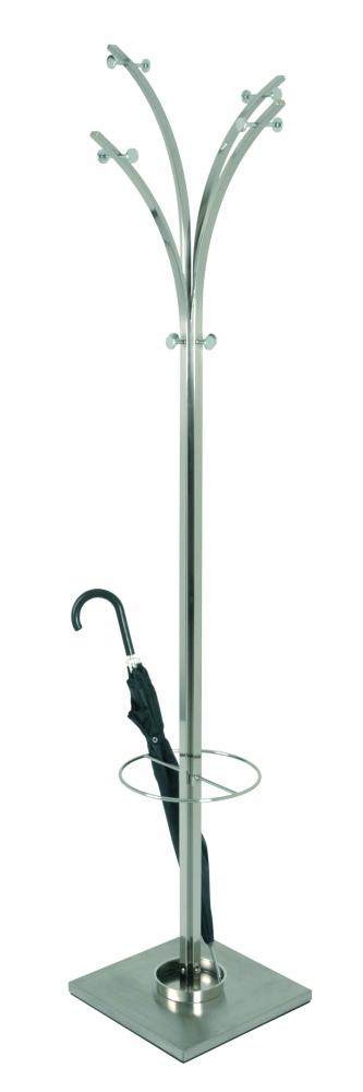 Stojanový vešák Bonnie, 187 cm, šedá
