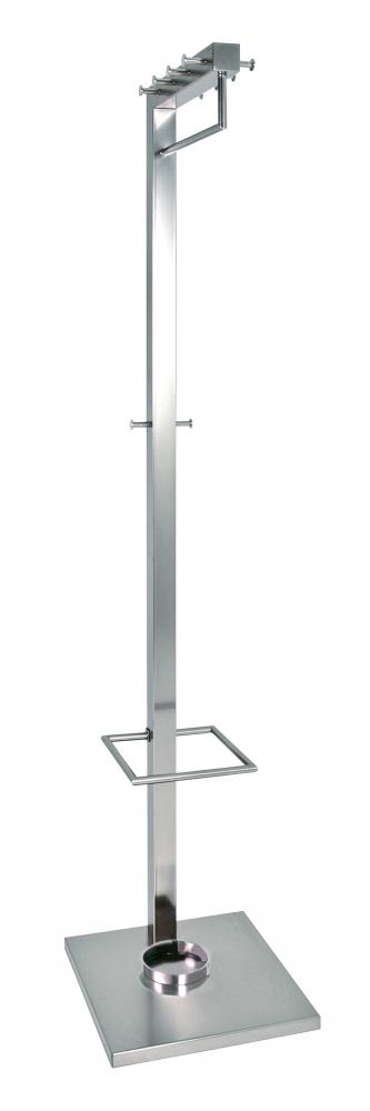 Stojanový věšák Carter, 180 cm, šedá