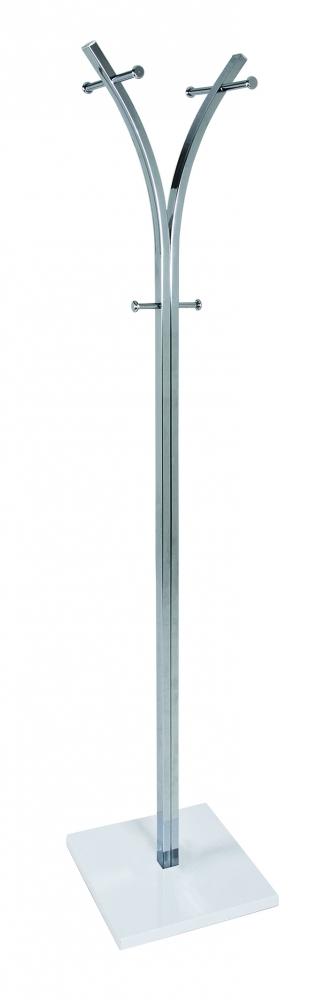 Stojanový vešák Clarke, 187 cm, bílá
