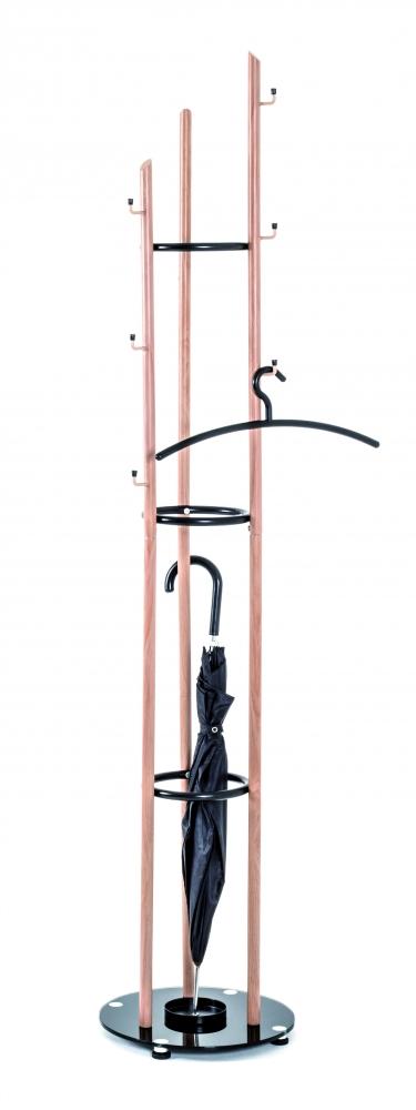 Stojanový věšák Flipr, 183 cm, buk