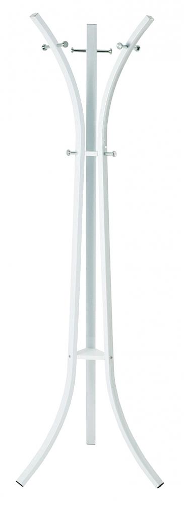 Stojanový věšák Freddy, 177 cm, bílá