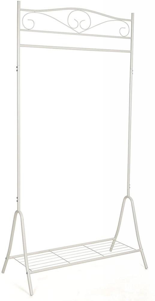 Stojanový věšák Gilis, 173 cm, bílá