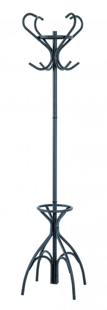 Stojanový věšák Jessy, 186 cm, černá