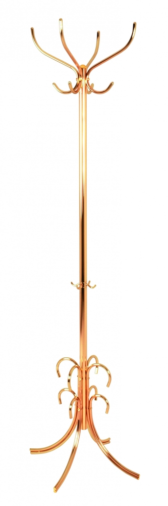 Stojanový věšák Lars, 185 cm, zlatá