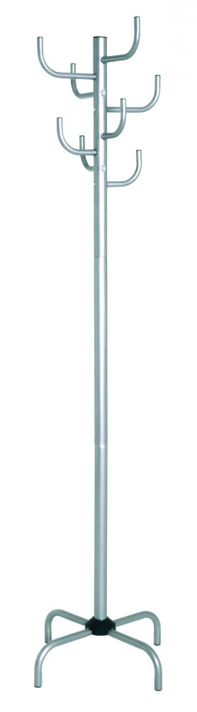 Stojanový věšák Mexicano, 180 cm, stříbrná