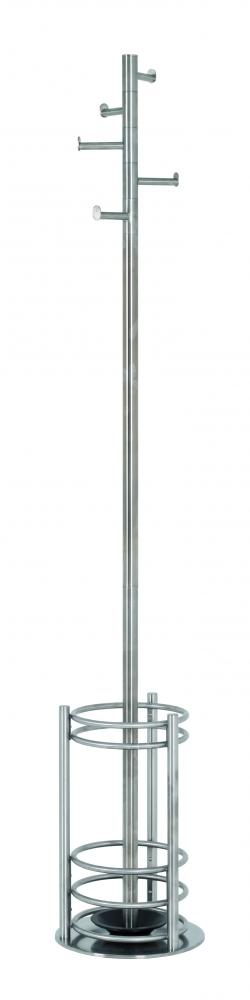 Stojanový věšák Nick, 180 cm, nerez