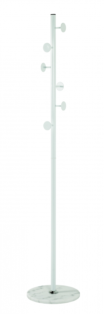Stojanový věšák Pedro, 180 cm, bílá