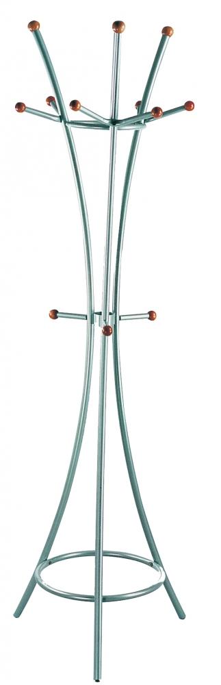 Stojanový věšák Willy, 181 cm, chromová