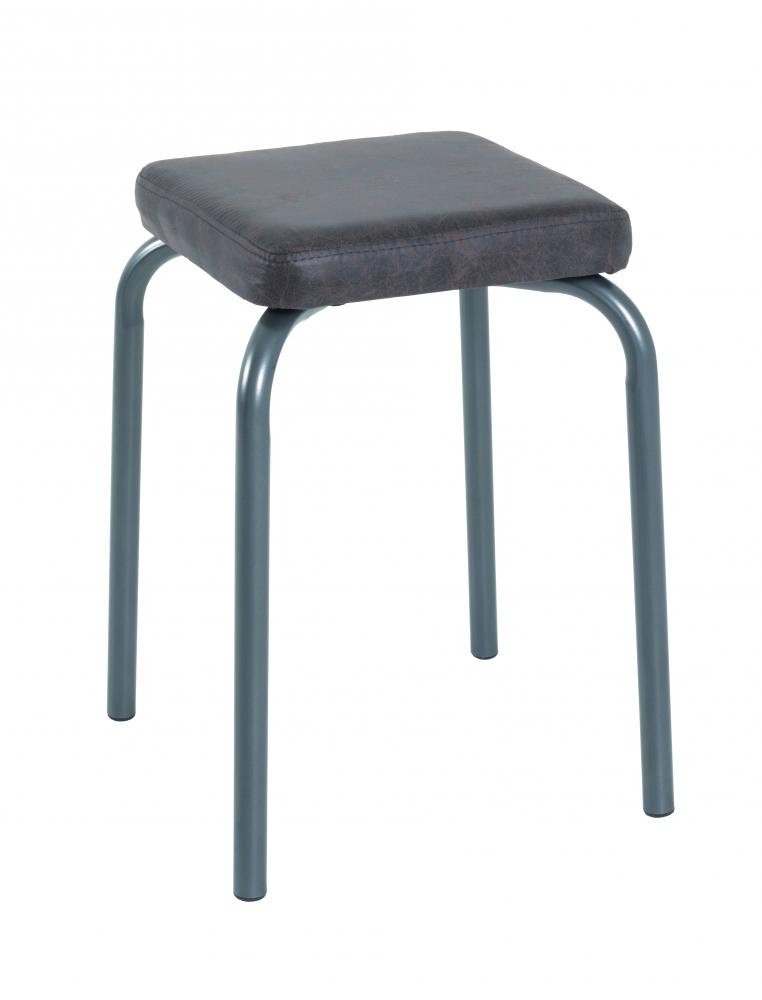Stolička Cabo, 49 cm, hnědá