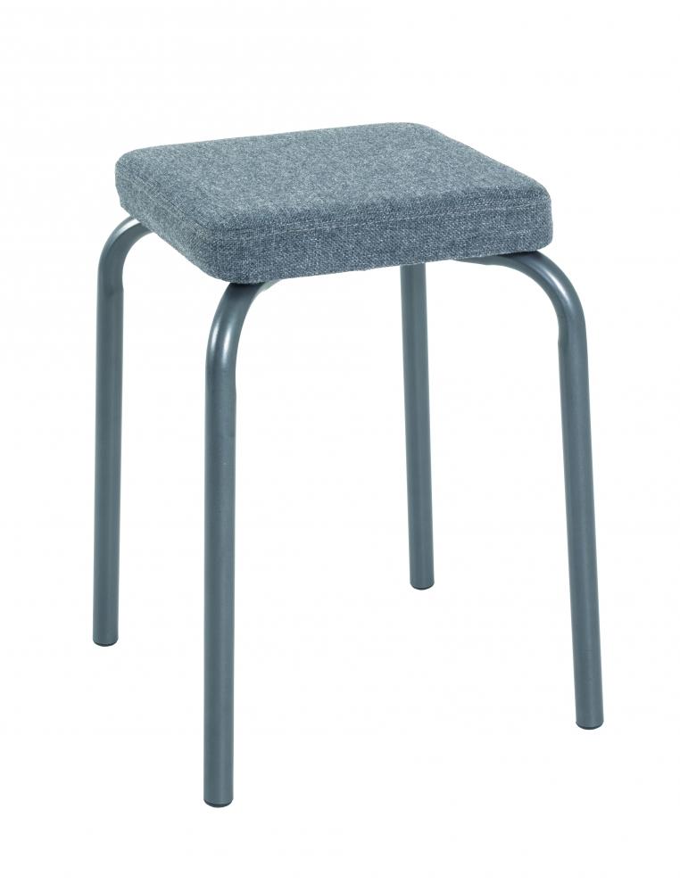 Stolička Cabo, 49 cm, šedá