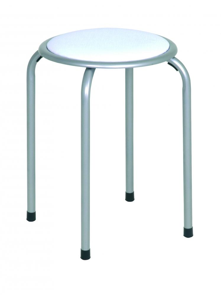 Stolička Dari, 45 cm, bílá