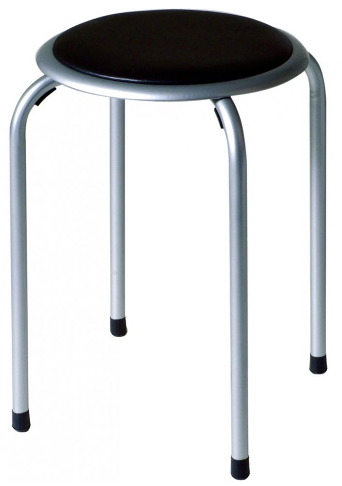 Stolička Dari, 45 cm, černá