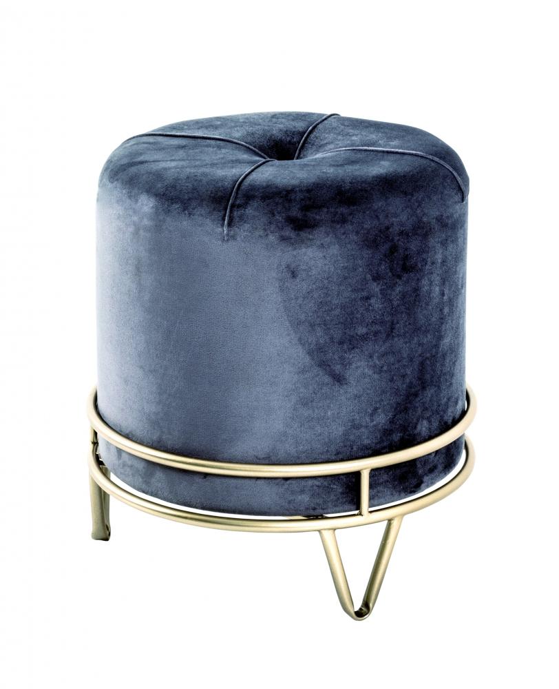 Stolička Epona, 40 cm, tmavě šedá
