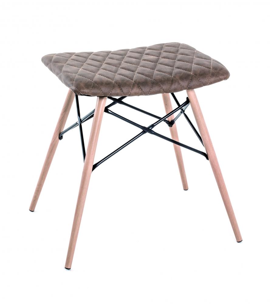 Stolička Evina, 48 cm, hnědá