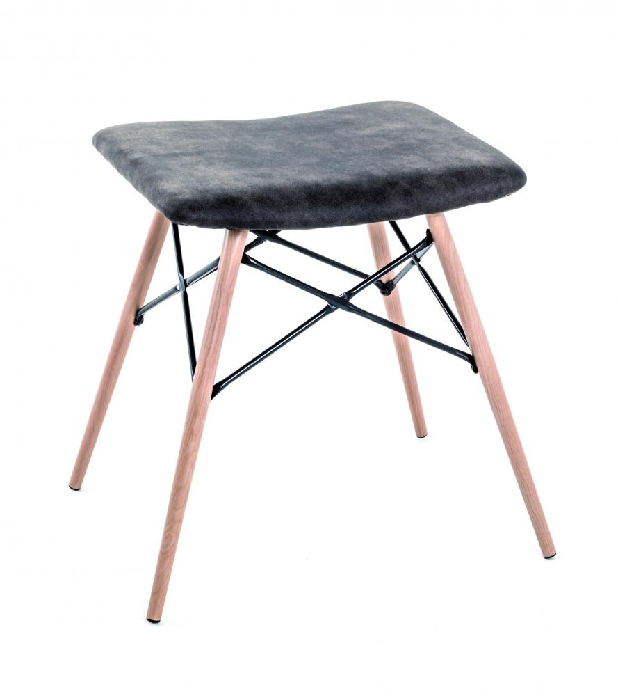 Stolička Evona, 48 cm, šedá