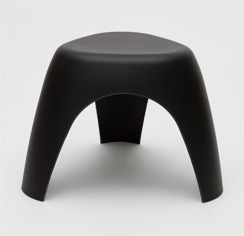 Stolička Fanny, 52 cm, černá