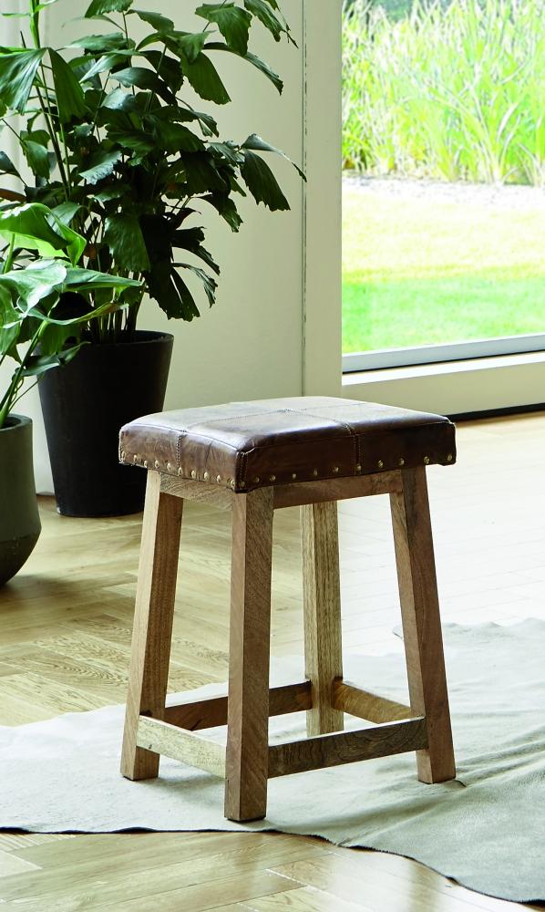 Stolička Osbert, 50 cm, hnědá