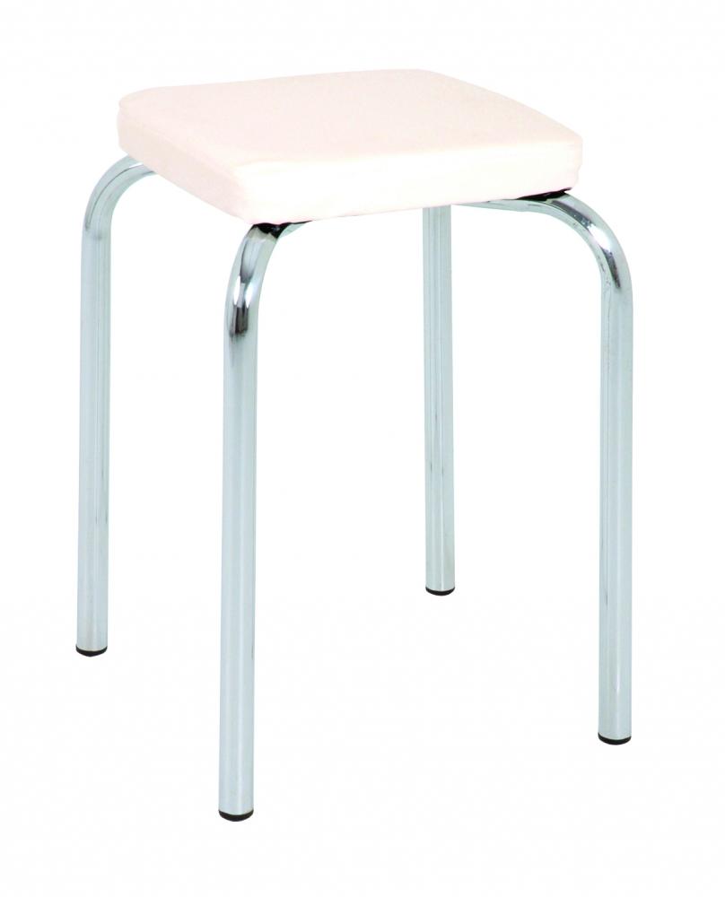 Stolička Pang, 49 cm, bílá