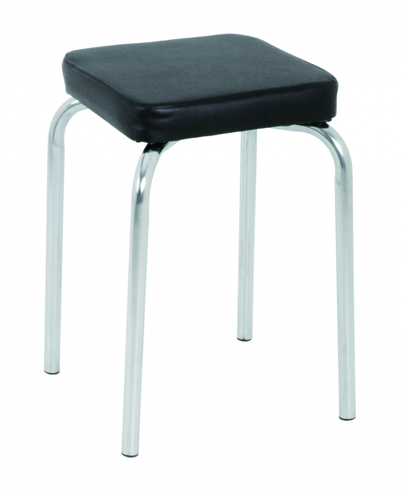 Stolička Pang, 49 cm, černá