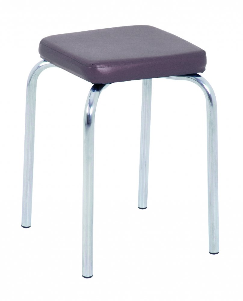 Stolička Pang, 49 cm, hnědá