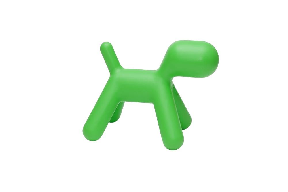 Stolička pro děti Pejsek, 70 cm, zelená