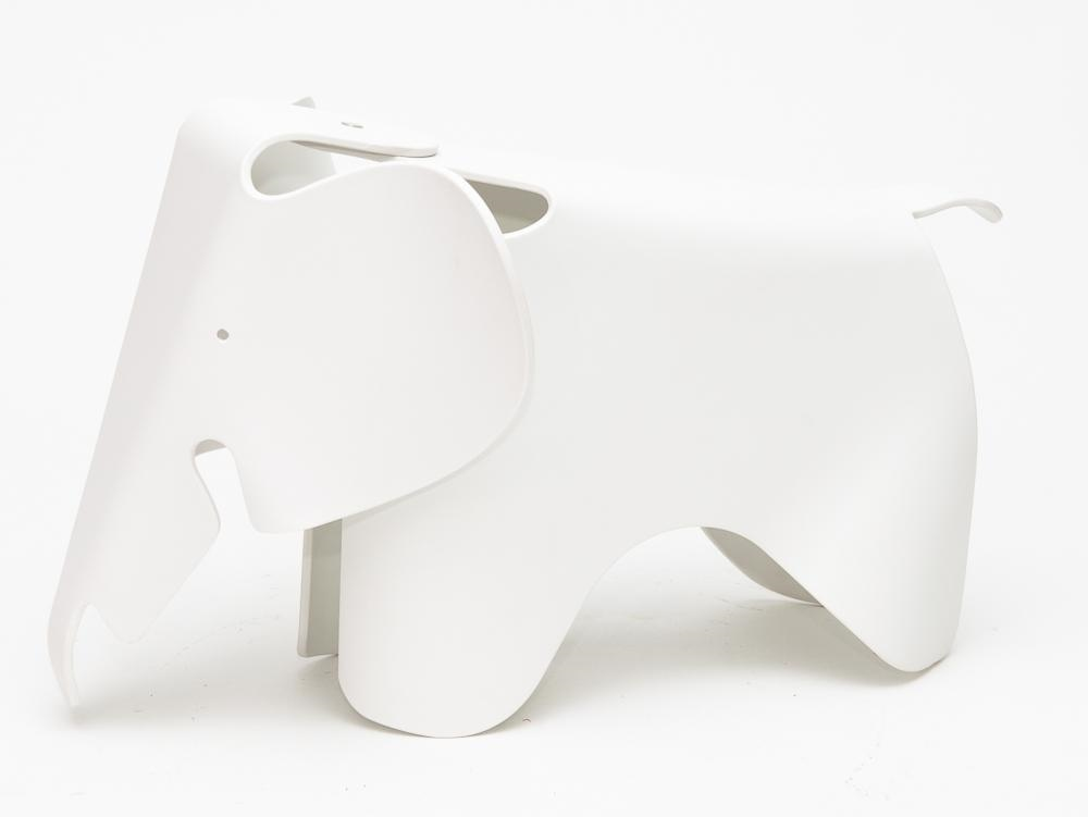Stolička pro děti Slon, 64 cm, bílá