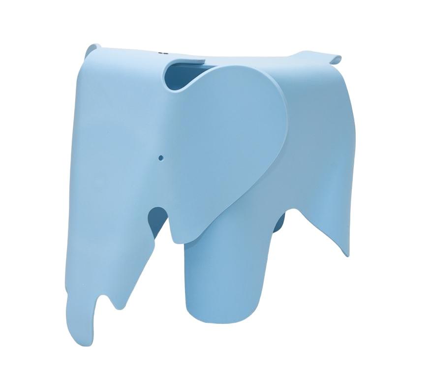 Stolička pro děti Slon, 64 cm, modrá