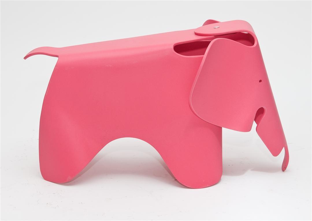 Stolička pro děti Slon, 64 cm, růžová