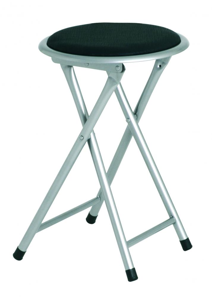 Stolička Rung, 45 cm, černá