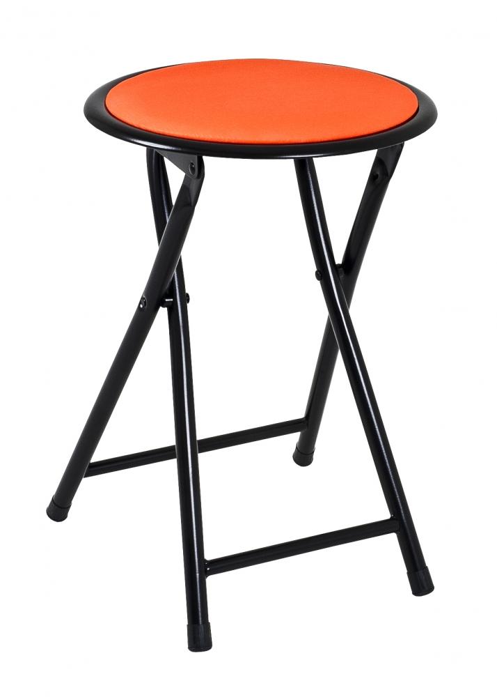 Stolička Rung, 45 cm, oranžová