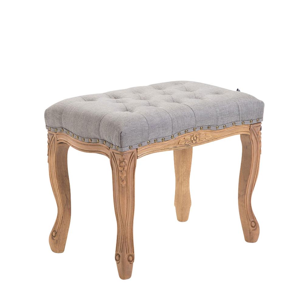 Stolička s dřevěnou podnoží Graven, 56 cm, světlá podnož