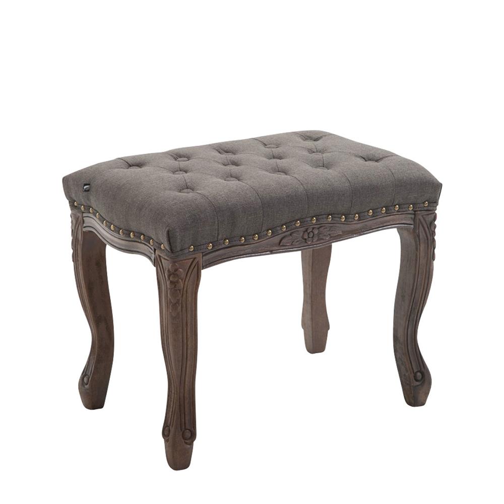 Stolička s dřevěnou podnoží Graven, 56 cm, tmavá podnož