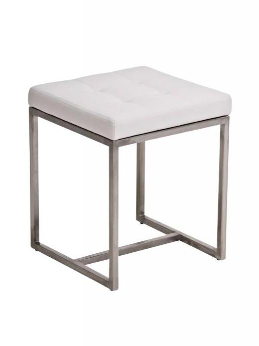 Stolička s nerezovou podnoží Barbara