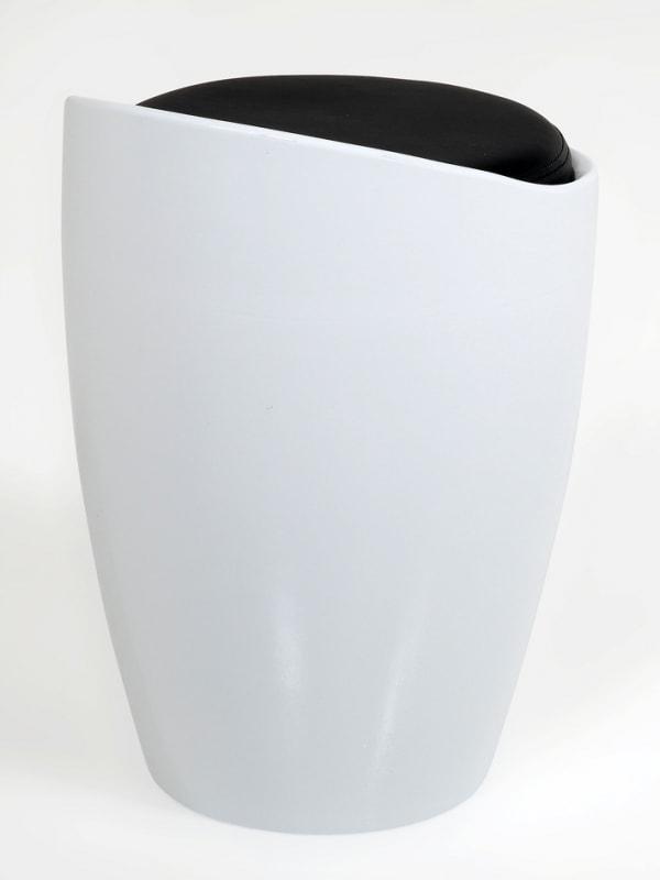 Stolička s úložným prostorem Molly, plast