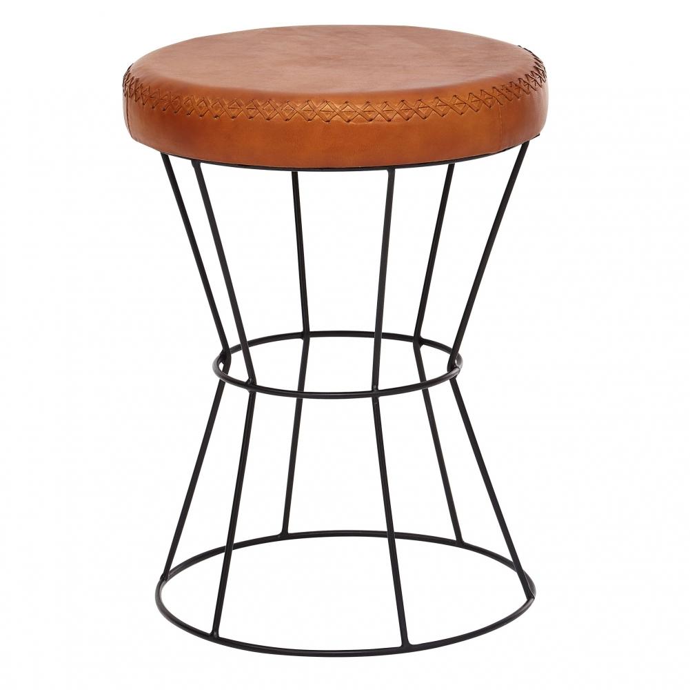 Stolička Sella, 48 cm, hnědá
