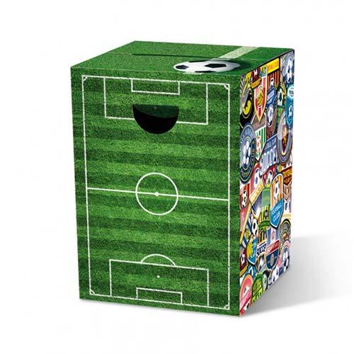 Stolička / stolík z vlnitej lepenky Soccer, viac farieb
